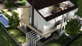 Villetta singola con impianto domotica